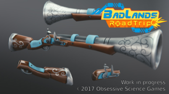 BadLands RoadTrip blunderbuss parts render