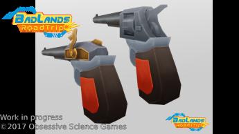 BadLands RoadTrip first guns render