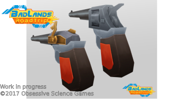 BadLands RoadTrip first guns render
