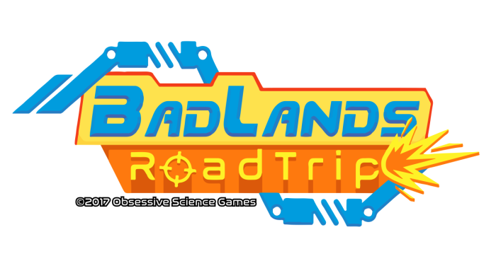 BadLands RoadTrip logo white background