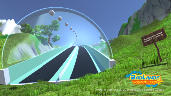 Highway spline open world