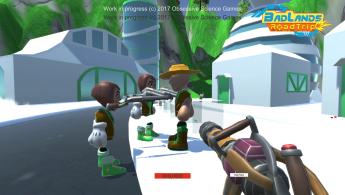 Multiplayer talk to NPC with physics guns