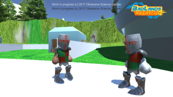NPC knights having a talk
